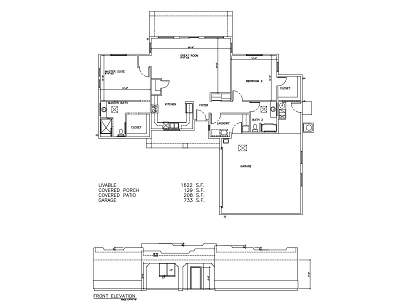 1622 SF – Welcome to Plans by Dean Drosos