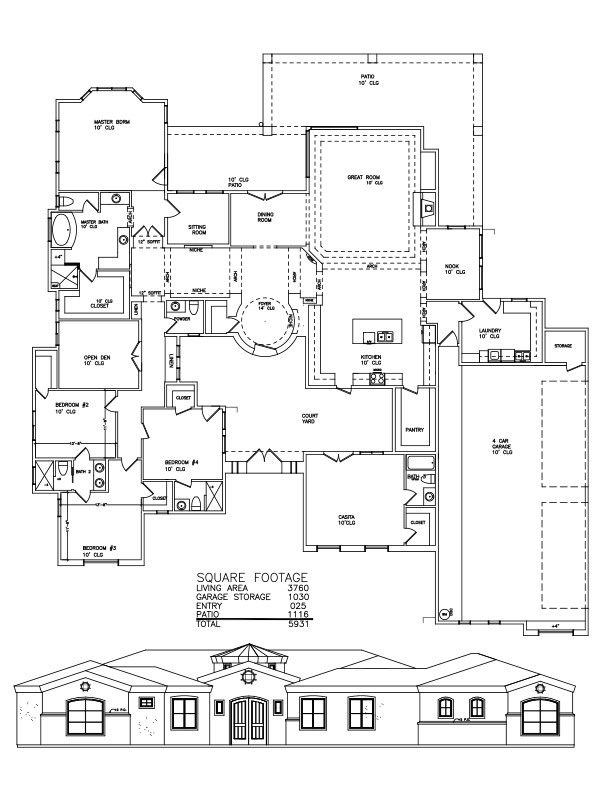3760 Sf Welcome To Plans By Dean Drosos