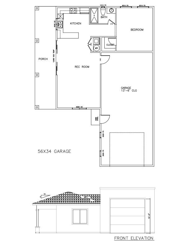 Garages 56×34 – Welcome to Plans by Dean Drosos