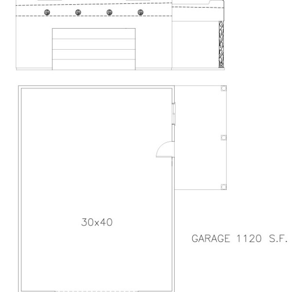Garages 30 40 welcome to plans by dean drosos for 30 by 40 garage plans